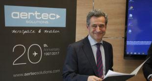 El director general de Aertec, Antonio Gómez-Guillamón.