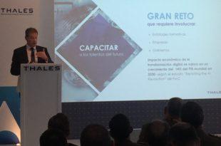 Thales presenta cuatro proyectos de transformación digital