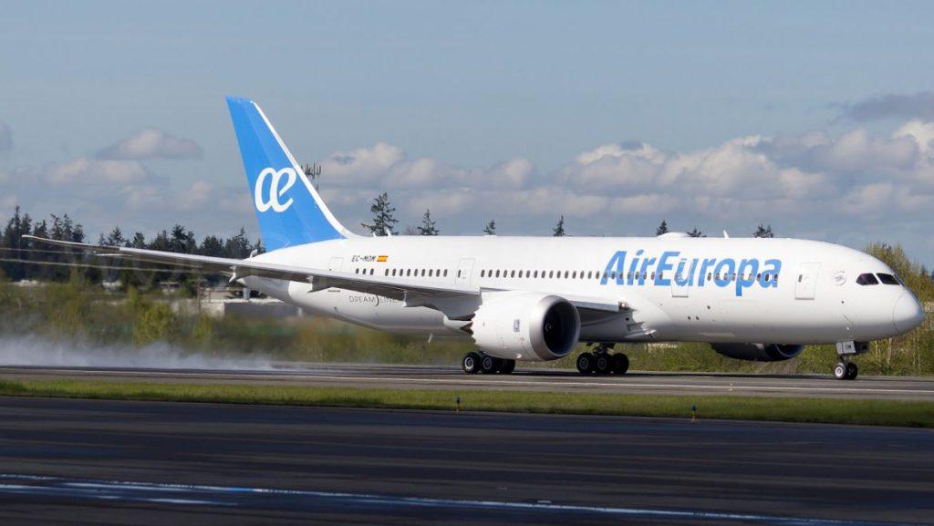 Foto: Boeing 787-8 Dreamliner. Air Europa