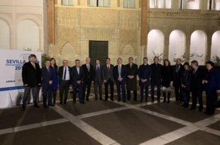 El acto de inauguración de la presidencia de la Comunidad de Ciudades Ariane por parte de Sevilla se celebró el pasado 23 de enero.