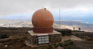 nuevo radar de última tecnología en la isla de Lanzarote