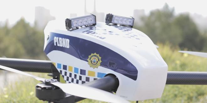 HYBRiX POLICE-UAV Benidorm