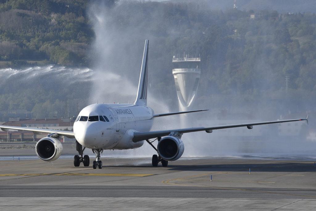 Air France en Bilbao