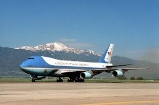 Air Force One Bush