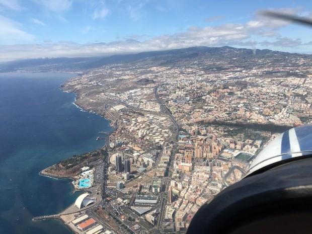 Art_se11- Vista Aérea Santa Cruz de Tenerife