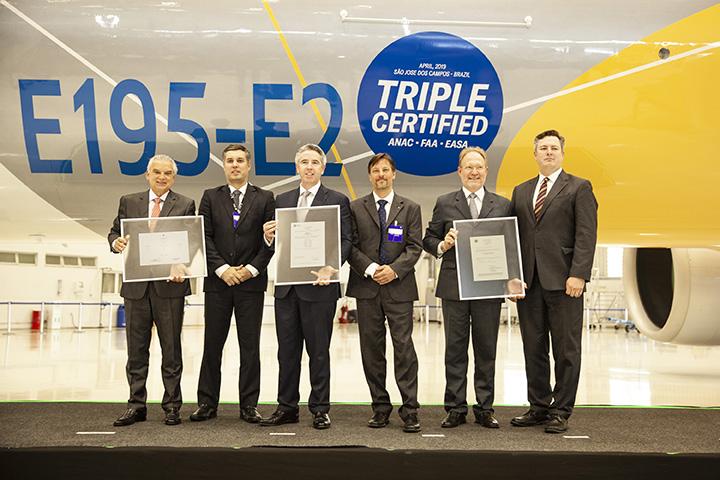 E195-E2 Certification Ceremony