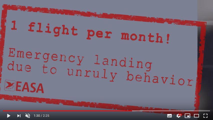 EASA e IATA lanzan la campaña Not On My Flight