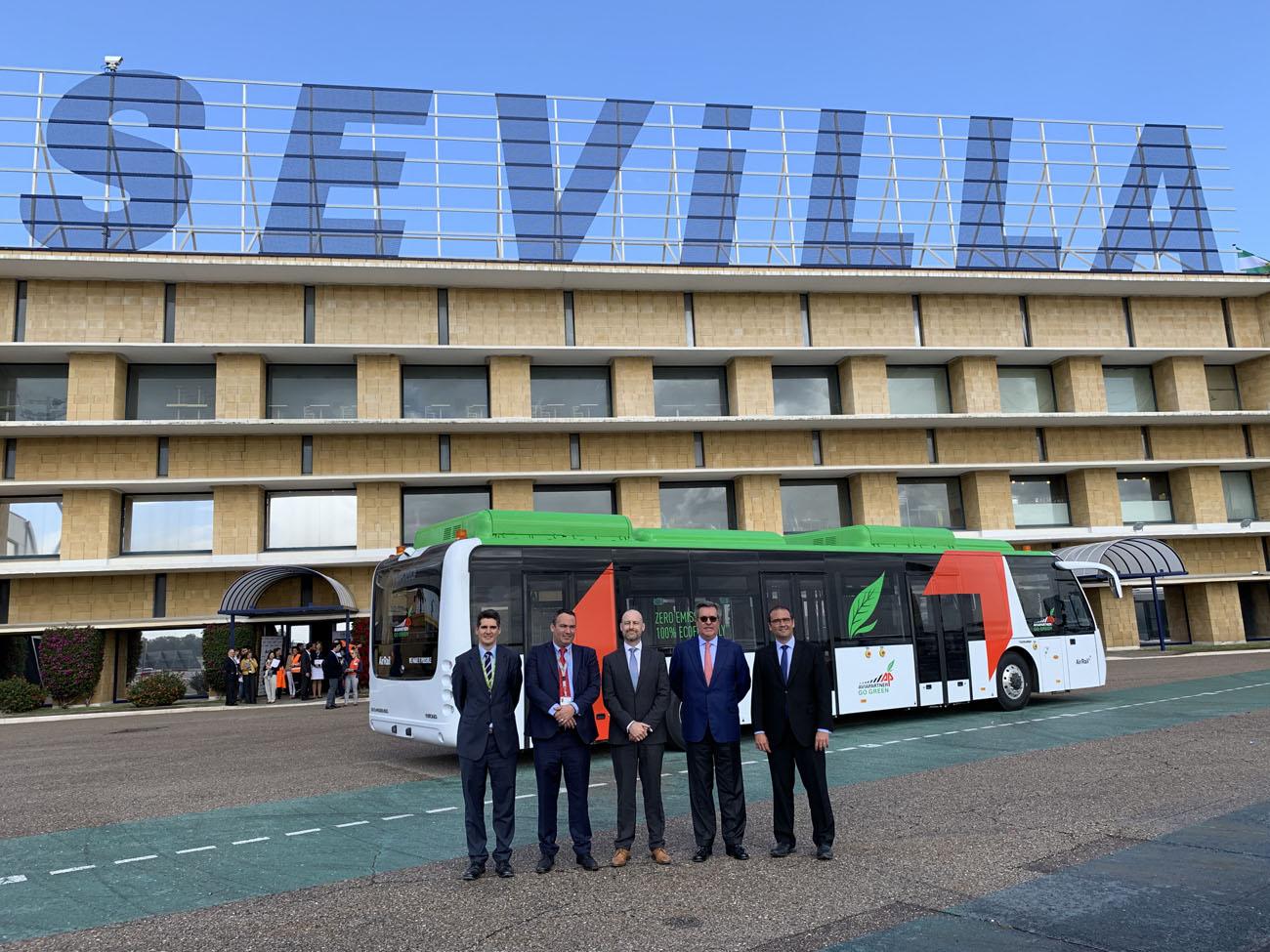 autobus aeropuerto Sevilla