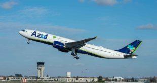 A330-900 MSN1876 Azul taking off