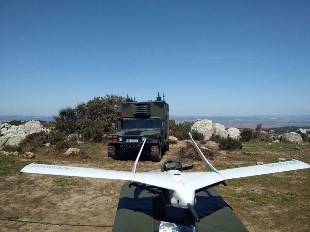 Fulmar aviación no tripulada