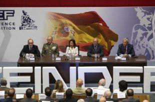 Presentación de la primera edición de la Feria Internacional de Defensa y Seguridad de España.