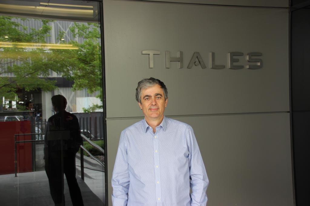 Luis Román, responsable de Ingeniería en Thales España.