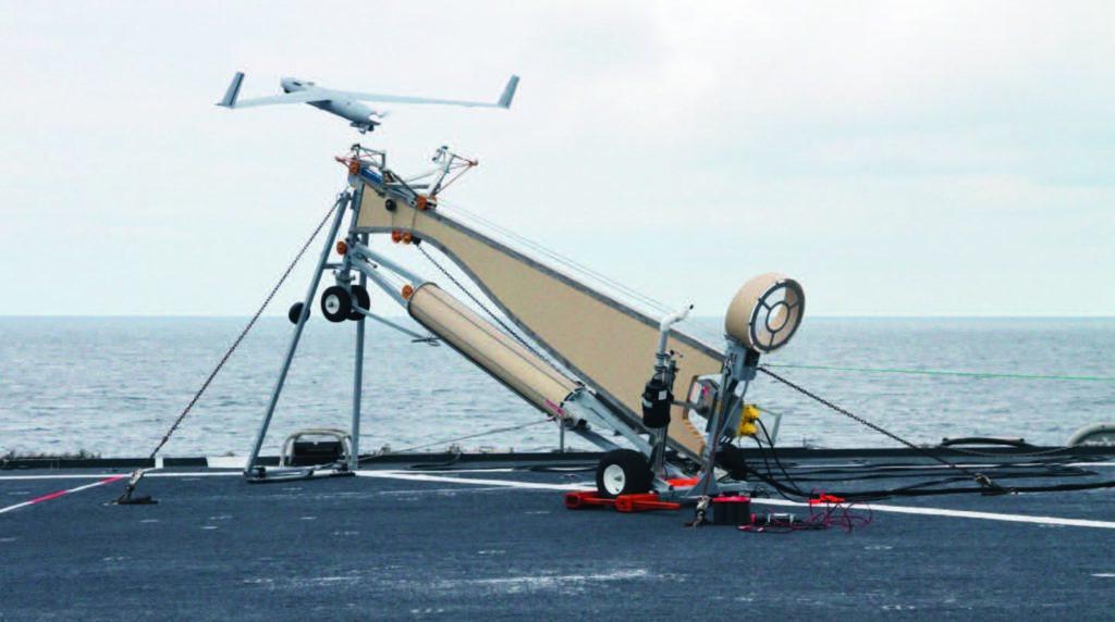 Scan Eagle a bordo del bAA Galicia