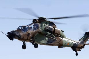 Helicóptero Tigre HAD-E. Foto: EFE/J. J. Guillén