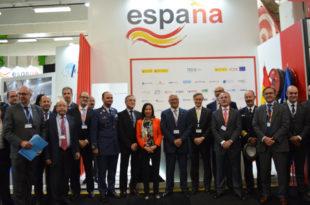 Pabellón de España en Paris Air Show