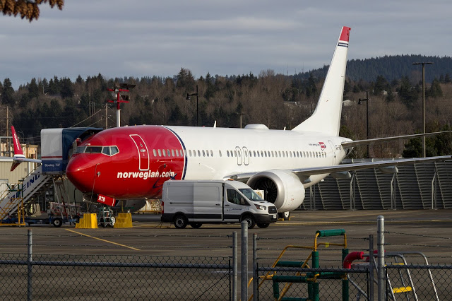 SE-RTB 737-8 Norwegian