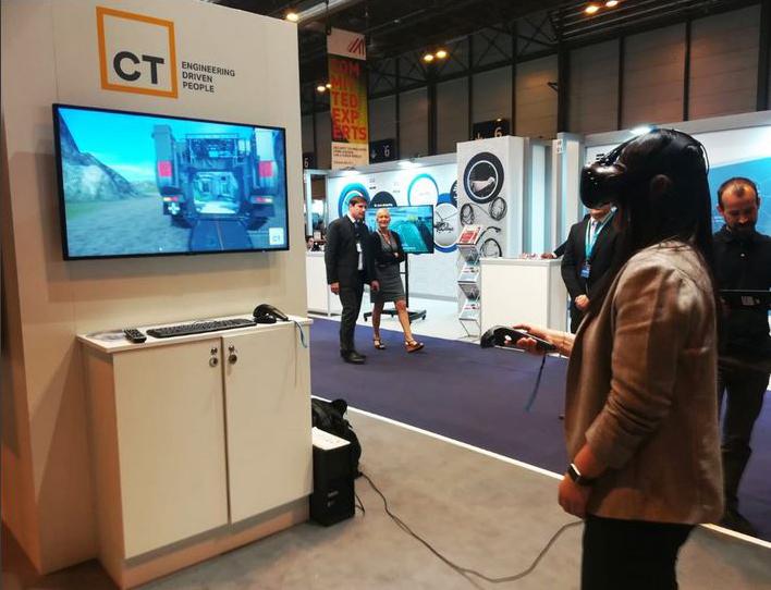 Herramientas de Realidad Virtual y Realidad Aumentada para la mejora y optimización de procesos, presentadas en la pasada feria FEINDEF.