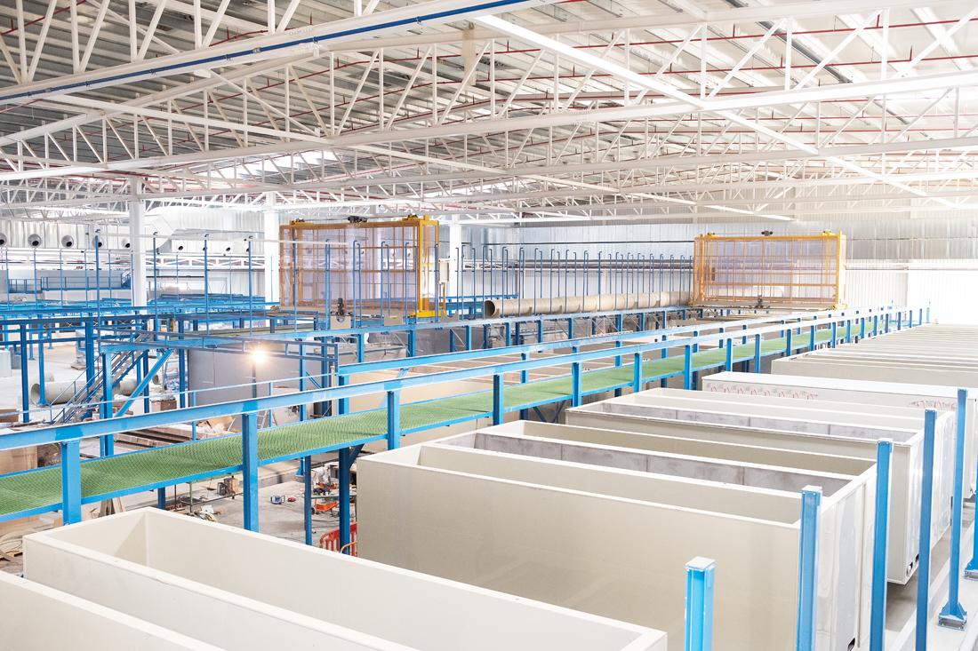 La nueva línea de tratamientos superficiales de aeroestructuras.