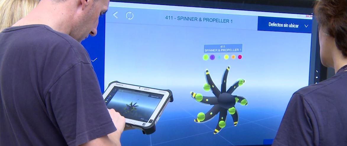 A su vez el conjunto va respaldado con dispositivos como tablets, gafas inteligentes y ordenadores.