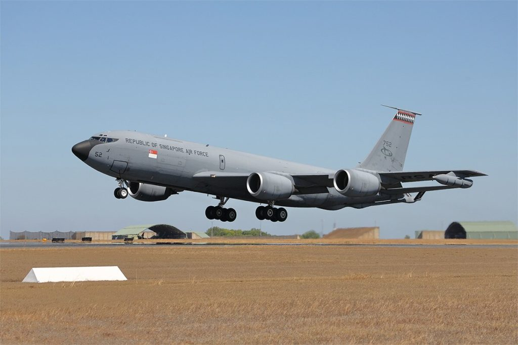 KC-135R Photo by Mike Yeo