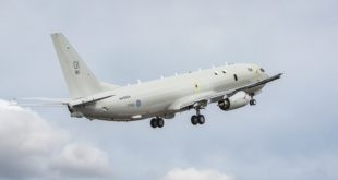 First UK P8 B1 Flight Takeoff