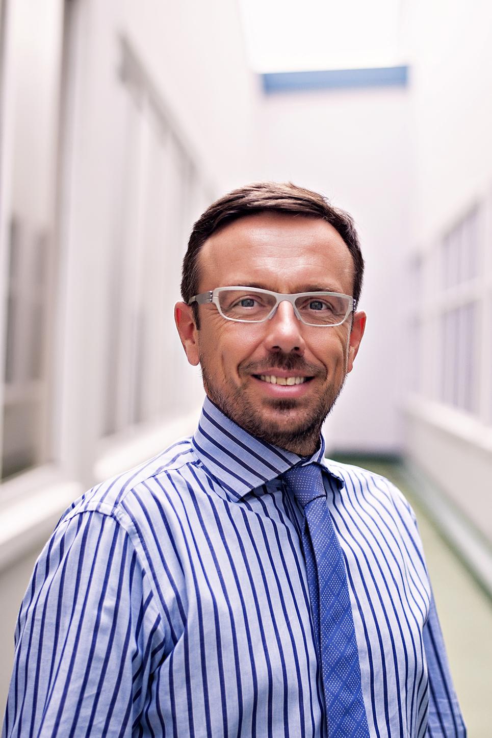 Olivier Guilbert, director comercial de Thales Alenia Space en el sudeste asiático.