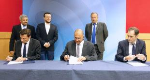 Thales Hellas and HSA signature