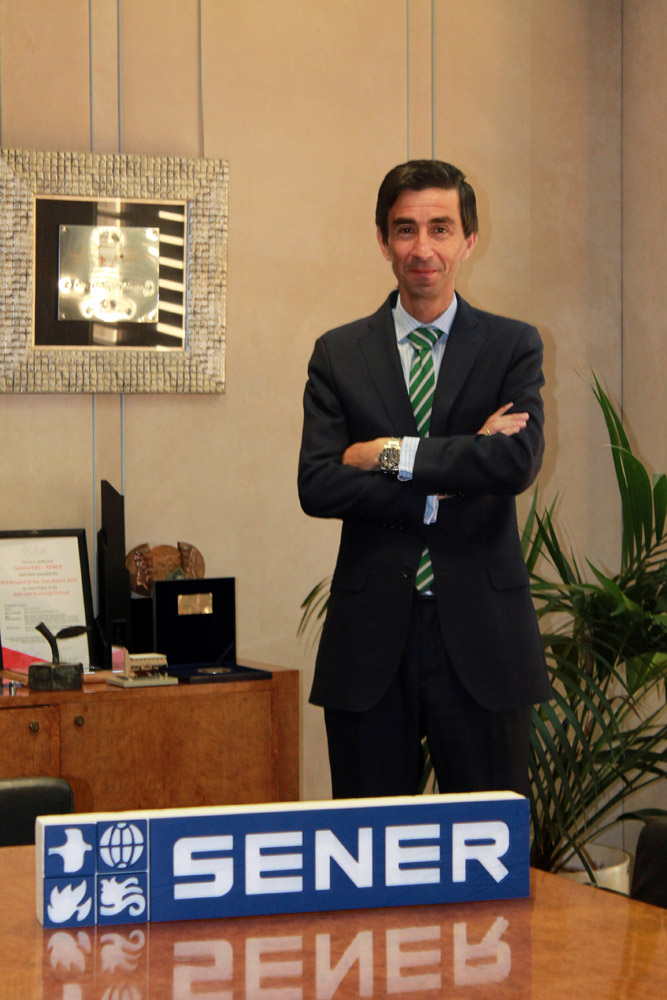 Luis García, nuevo director de Desarrollo Corporativo de SENER.