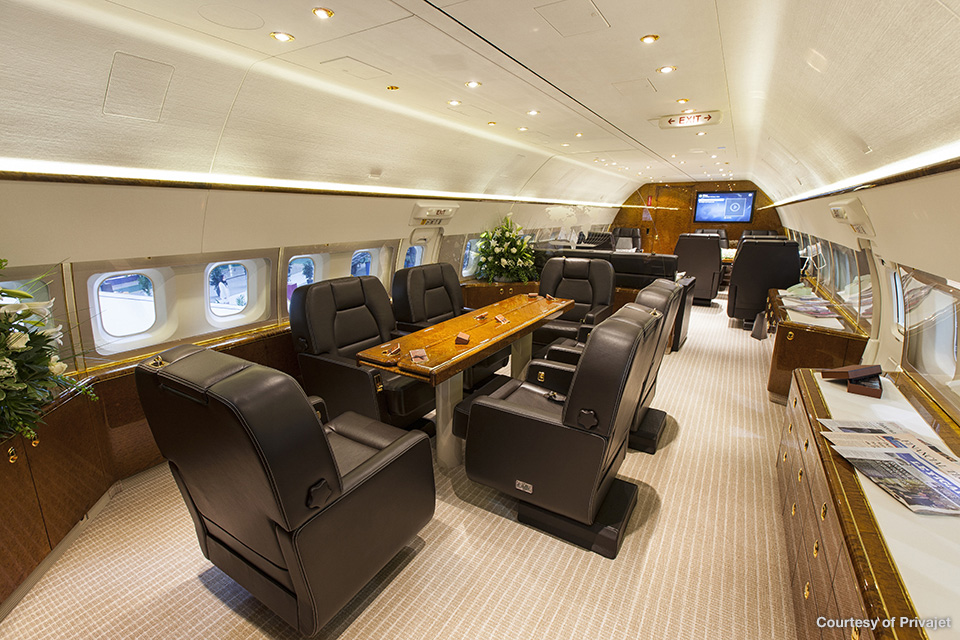interior B767-300 VIP