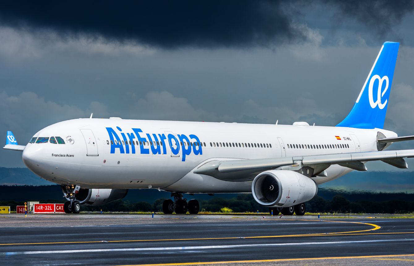 Airbus 330 de Air Europa.