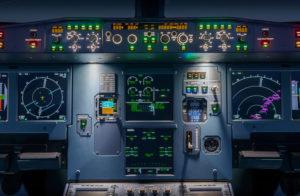 Cookpit del A320.