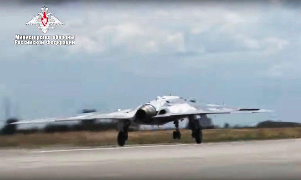 Captura del video que el Servicio de Prensa del Ministerio de Defensa ruso puso a disposición.