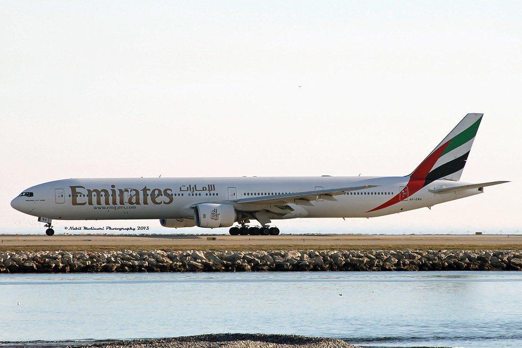 B-777-300 A6-EMX. Foto: Nabil Molinari