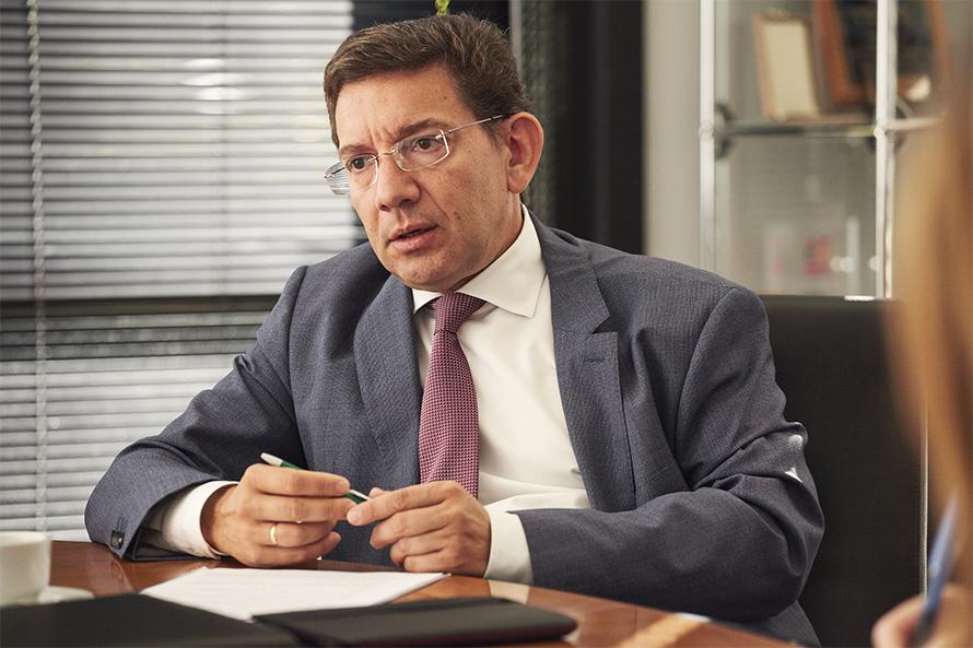 Diego Rodríguez. Foto: Sener