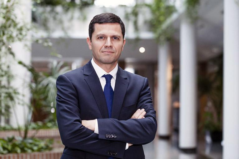 Eduardo Bellido, CEO de Thales Alenia Space en España.