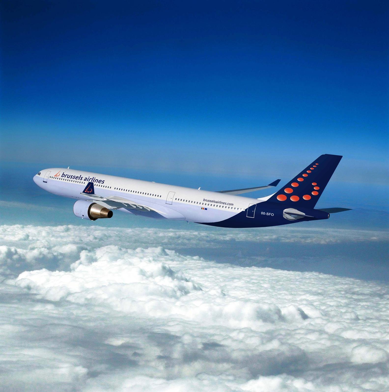 Valencia y Bruselas Brussels Airlines