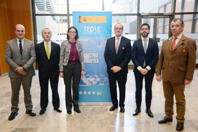 Presentación de la Agenda Sectorial 2019-2025 de la industria aeronáutica por el Ministerio de Industria y Tedae.