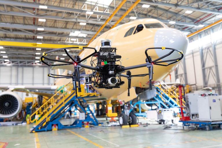 Ejército del Aire español es la primera Fuerza Aérea del mundo en realizar el MRO mediante drones, IA y Realidad Aumentada. Un sistema diseñado y desarrollado por Airbus Defence España.