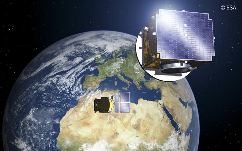 Proba-3. Imagen: Sener (ESA)