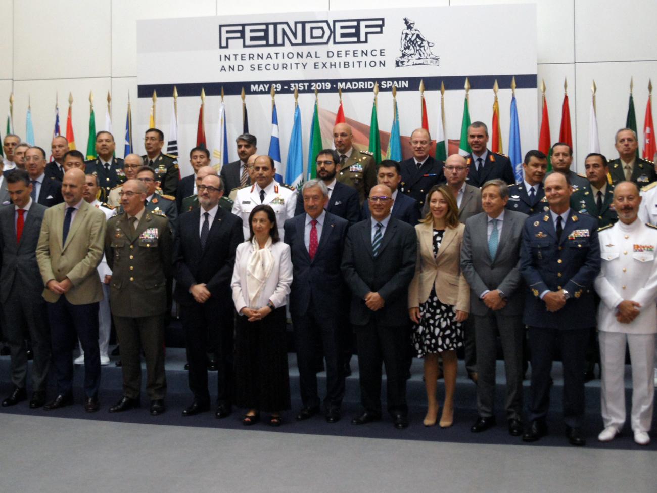 Inauguración FEINDEF 2919.