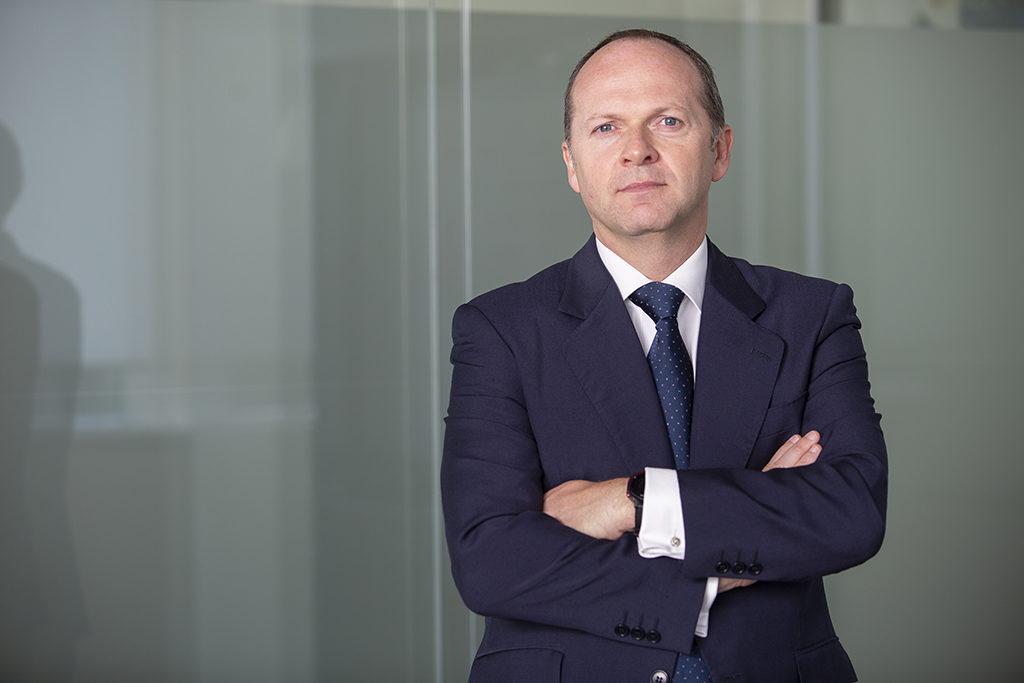 Roberto García Merino, CEO de Red Eléctrica, ultima junto a Miguel Ángel Panduro la previsible fusión de Hispasat e Hisdesat (crédito: REC)