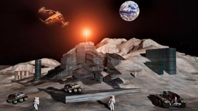 Explotación recursos espaciales en la luna (Luxemburgo)