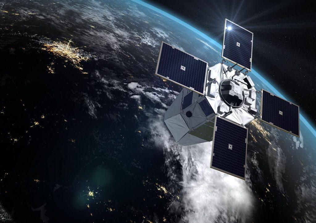 Satélite CSO en órbita