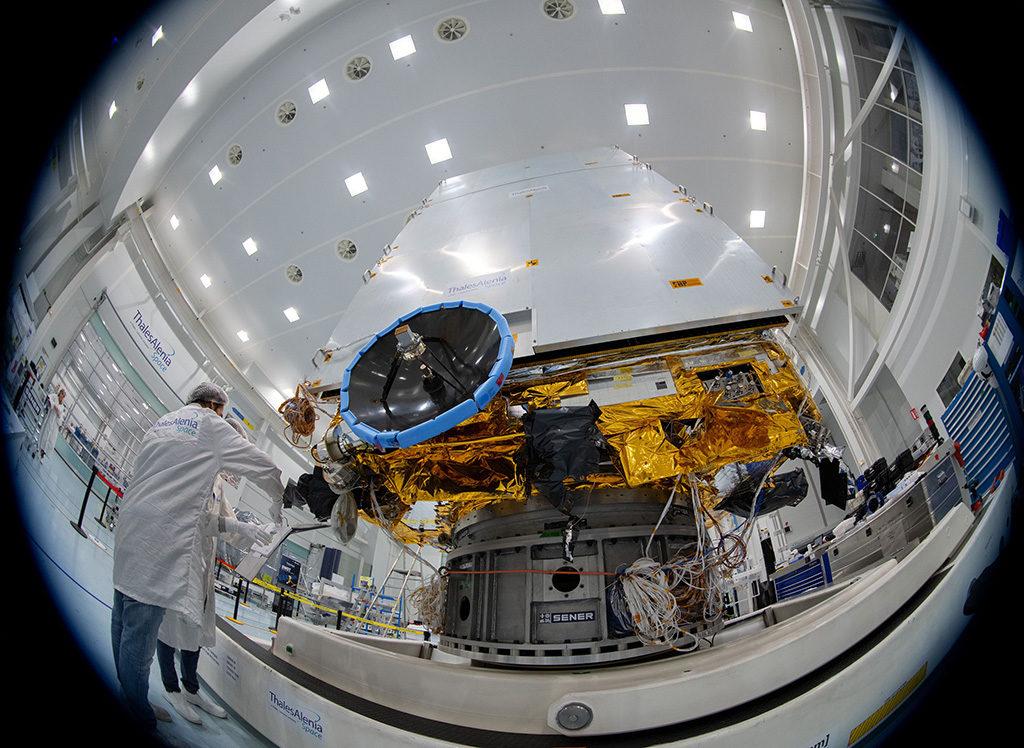 SENER Aeroespacial ADPM de Euclid