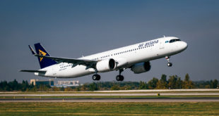 Air Astana A321LR Paris Almaty