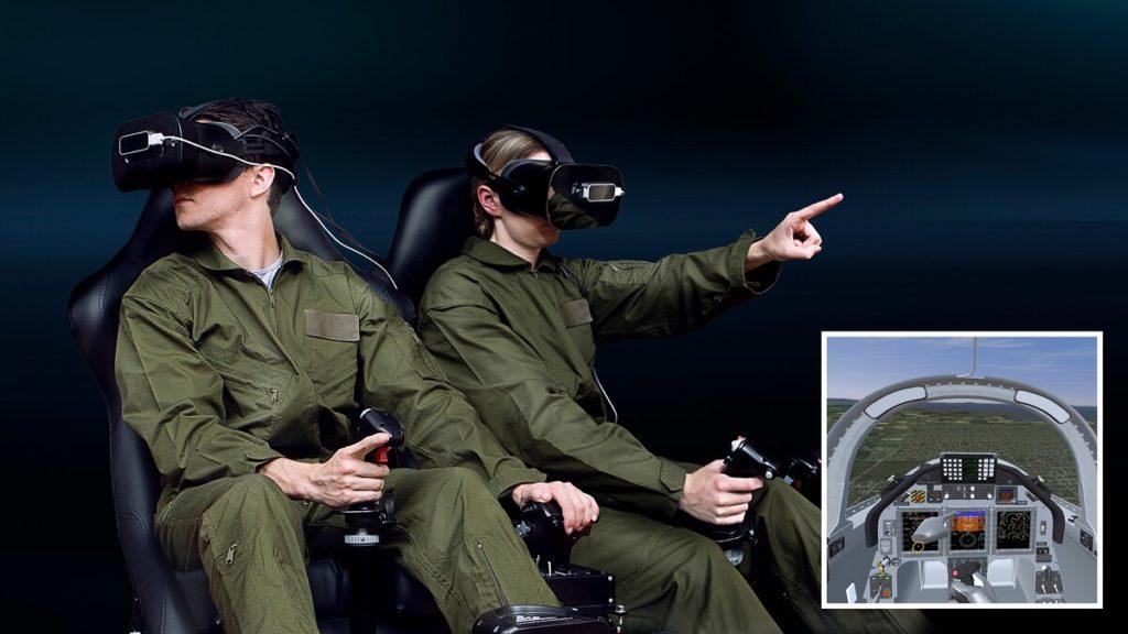 CAE, simulación aérea, ITSEC 2019, realidad virtual