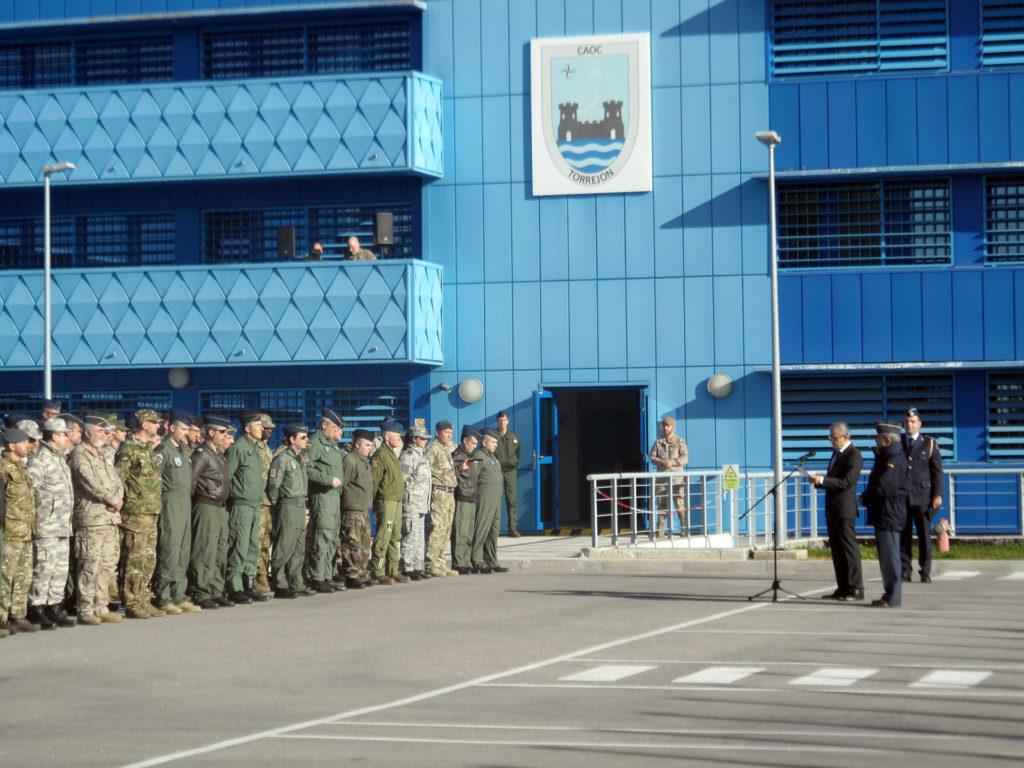 """En la sede del CAOC-TJ, el Barbullushi agradeció """"la gran importancia que representa la Alianza para la seguridad exterior de su país"""" (JPons)"""