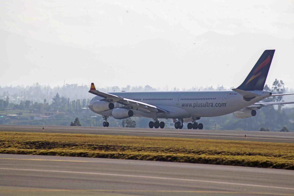 A340 de Plus Ultra Líneas Aéreas