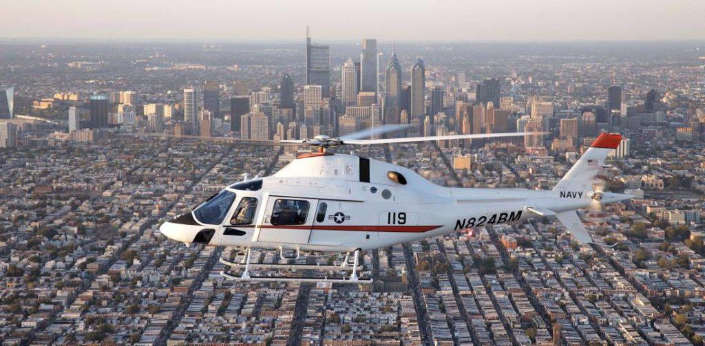 Leonardo TH-119 para la Marina de loe EEUU