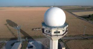 Radar Estación de vigilancia ADS-B de Palencia. (ENAIRE)